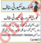Security Guard & Security Executive Jobs 2021 in Lahore