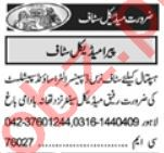 Lady Doctor & Pathologist Jobs 2021 in Lahore