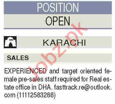 Salesman & Order Booker Jobs 2021 in Karachi
