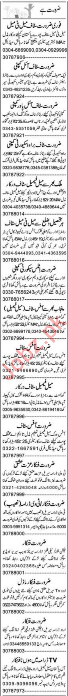 Admin Manager & Promotion Officer Jobs 2021 in Faisalabad