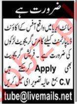 Accounting Staff Jobs 2021 In Karachi