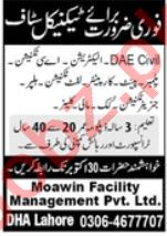 Moawin Facilities Management Private Limited Jobs 2021