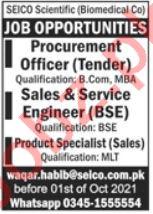 Procurement Officer Jobs 2021 in Rawalpindi