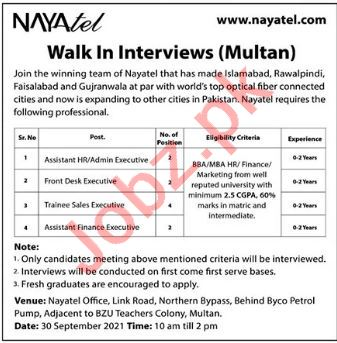 Naytel Private Limited Jobs Interviews 2021