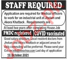 Medical Officer Jobs in Private Company