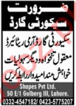 Shapes Pvt Limited Lahore Jobs 2021