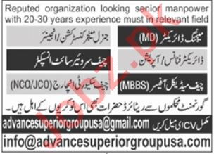 Advance Superior Group Islamabad Jobs 2021 for Engineer