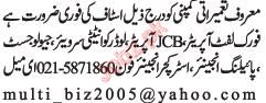 Construction Staff Required urgently