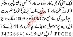 Civil Techincal Staff Required