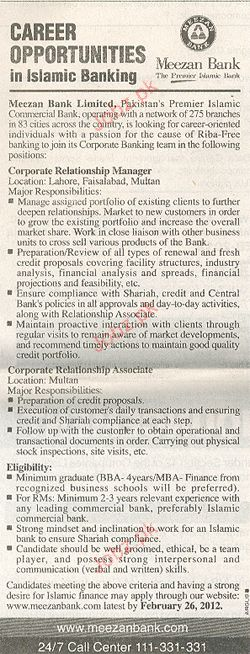 Corporate Relationship Manager Job Opportunity