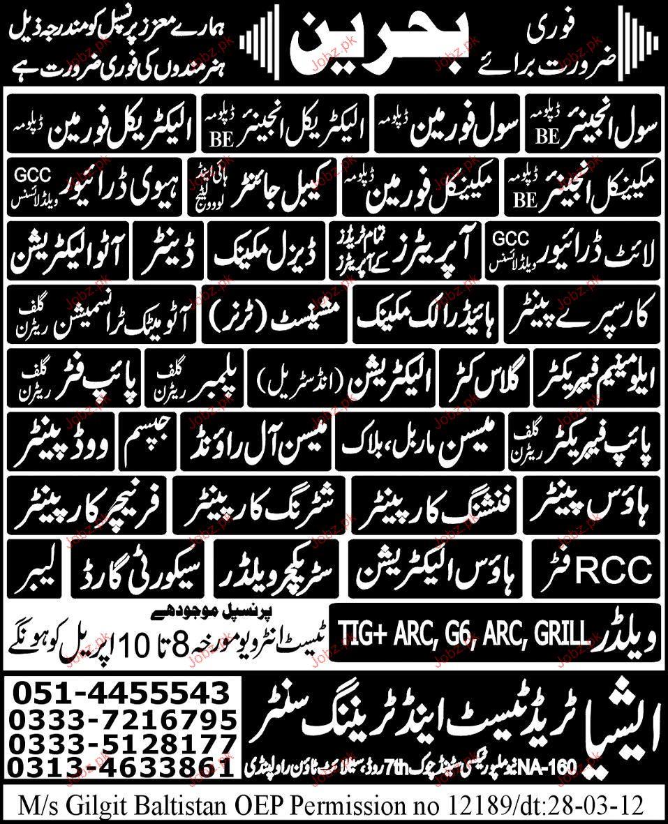 Civil Engineer, Civil Foreman, Drivers Job Opportunity