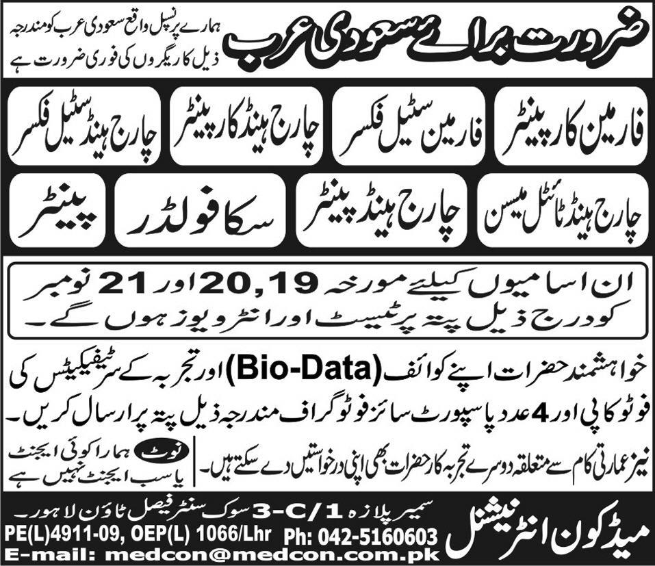 Painter and Chargehand Painter Jobs