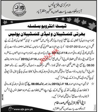 Recruitment in Special Police Force