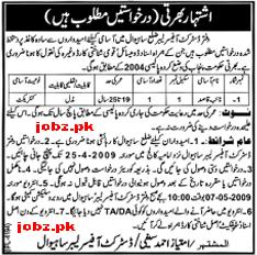 District Officer Labor Jobs
