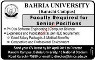 Faculty Job Opportunity
