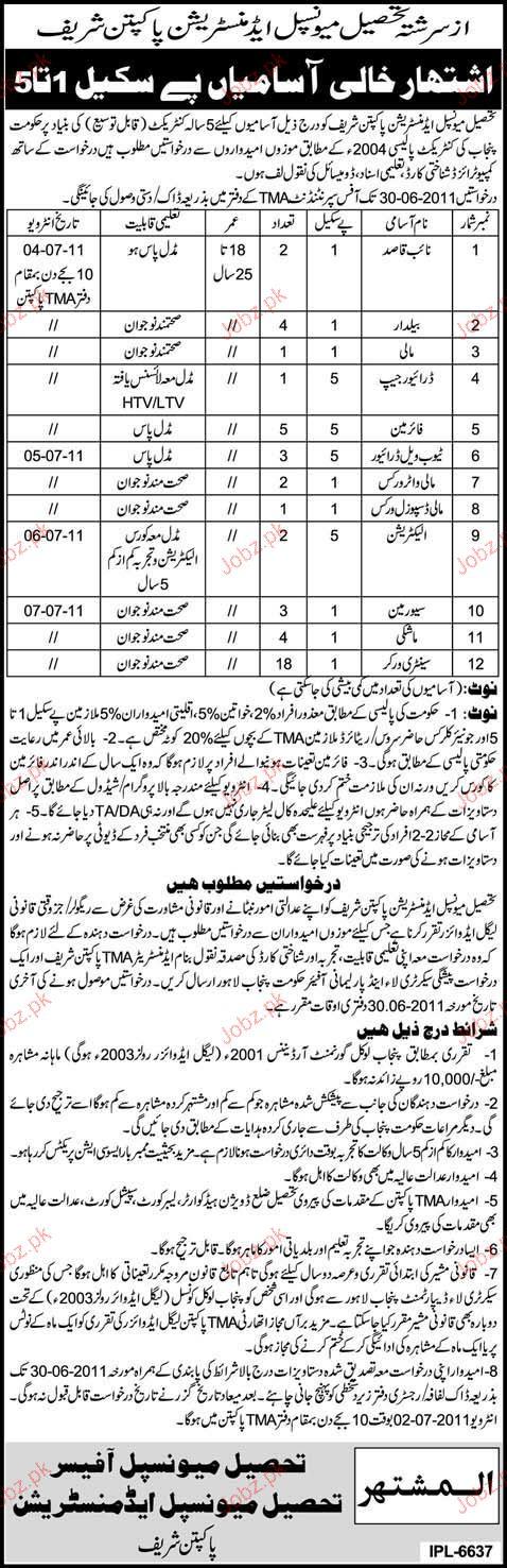 Naib Qasid, Baildar, Mali, Driver Job Opportunity