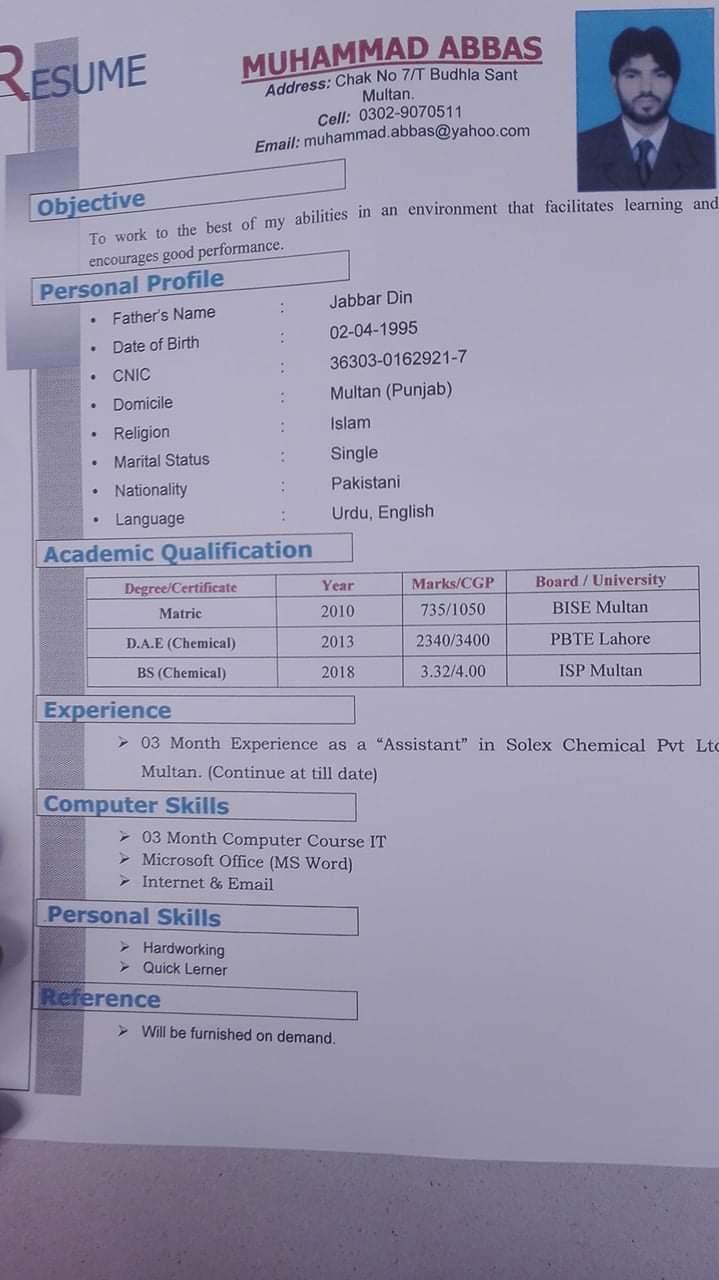 Chemical  Freelancer